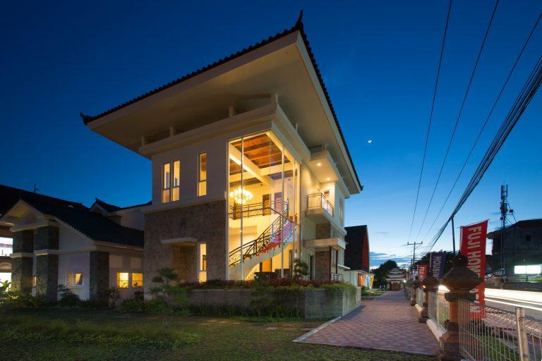 Modelhouse realestate bangunan hunian rumah